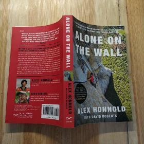 亚历克斯霍诺德传记Alone on the Wall 英文原版
