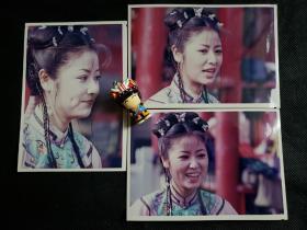 1999版《还珠格格》20多年前原版照片紫薇单人3张-1组,林心如饰演紫薇(可购单张,私信)