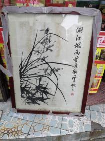 蒋风白画作