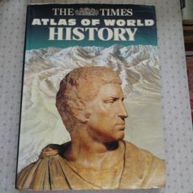 The Times Atlas of World History  英语进口原版精装世界历史地图集