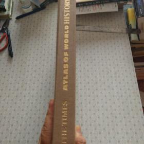 The Times Atlas of World History泰晤士世界历史地图集