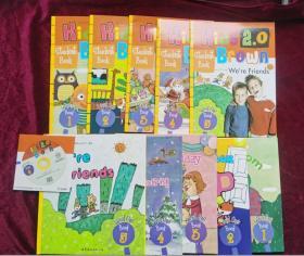 布朗儿童英语Hids Brown 2.0 Level one 1(第1级)1-5(5册精装书+5册练习册+光盘)全10册