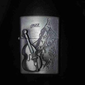 打火机外壳配件收藏JAZZ爵士乐大提琴