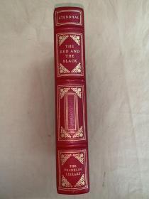Franklin Library真皮限量本:The Red and The Black《红与黑》世界最伟大的100本书系列