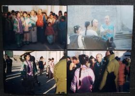 1999版《还珠格格》20多年前原版照片合影4张-5组,(亦可单购,私信截图)