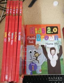 正版 Kids Brown2.0 Level Two 布朗儿童英语 2(5书+5练习册 共10册)含光盘