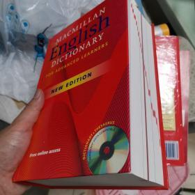 Macmillan English Dictionary for Advanced Learners hardcover 精装版