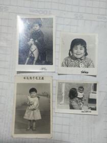 儿童照一组4张