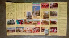 旧地图-黄石市工商交通图(1989年11月1版1印)4开8品