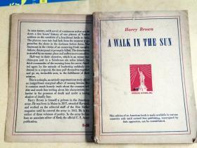 A WALK IN THE SUN  在阳光下步行    (1944年美国原版小说)