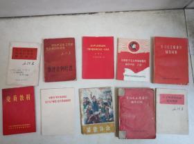 红色小册子(10本)包邮