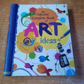 Complete Book of Art Ideas (Spiral Hardback)