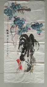 浩然斋集书画之一百四十三: 云龙款 精美国画《秋趣图》