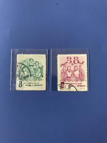 纪59《三八国际妇女节》信、盖混邮票