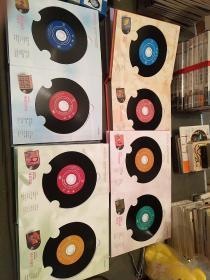 纪念巨星珍藏集 邓丽君1--5盒装,25张,邓丽君黑胶唱片,  永恒邓丽君 纪念邓丽君诞辰60周年珍藏金碟