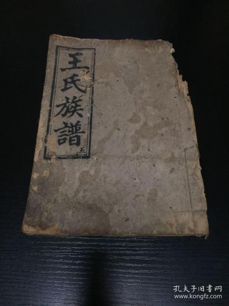 清光绪湘阴王氏三槐堂五修族谱第五册卷二之三