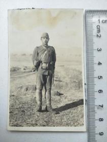 来自侵华日军联队支那事变相册,此为其中1张,日军士兵