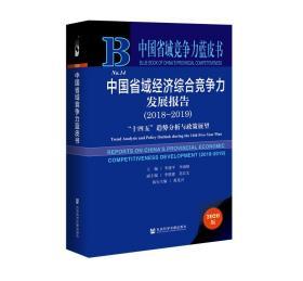 中国省域竞争力蓝皮书:中国省域经济综合竞争力发展报告(2018~2019)
