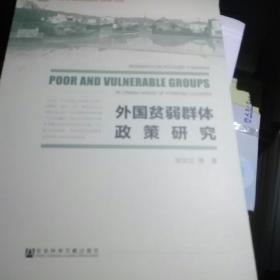 外国贫弱群体政策研究