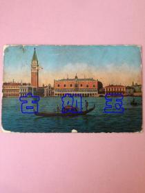 民国明信片,veneaia,panorama dall,威尼斯全景图,约二三十年代