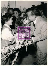 1972年西哈努克访问山东济南青岛组照4张