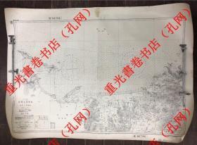 超厚,民國1934年山東煙臺芝罘地圖,根據1929年英國海圖,藍本采用1918年中華民國通商海關海政局測量數據