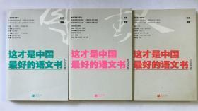 这才是中国最好的语文书【小说分册、散文分册、综合分册】(三册合售)