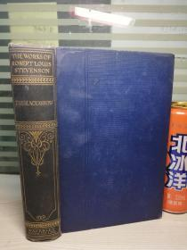 1925年 THE BLACK ARROW 书顶刷金  Waverly EDITION   WORKS OF REOBERT LOUIS STEVENSON  20.7X14CM  纸张挺厚