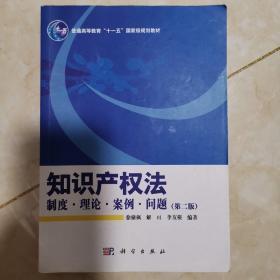 知识产权法:制度、理论、案例、问题(第2版)