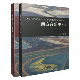 西方音乐史 (上下册) 全彩 图片丰富 音乐欣赏 聆听导赏 流行音乐 中世纪音乐 20世纪音乐