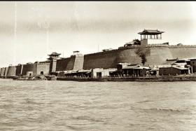 上世纪二十年代的广州和兰州老照片18张5吋的hw