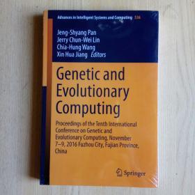 Genetic and Evolutionary Computing(英文原版)