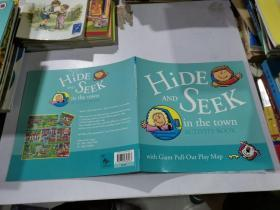 hide and seek acctivity book in the town:在城里捉迷藏活动书