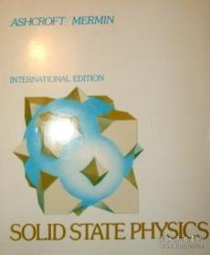 Solid State Physics-固体物理学
