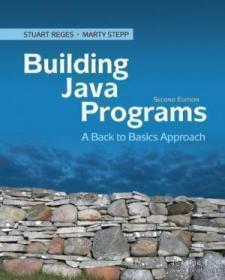 Building Java Programs-构建Java程序