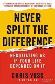 Never Split The Difference-永远不要平分差距