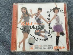 CD SHE PLAY 玩耍 步升正版 移动宣传版 拆封