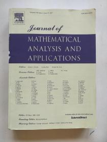 英文原版JOURNAL OF MATHEMATICAL ANALYSIS AND APPLICATIONS 2017《数学分析和应用程序