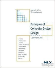 Principles Of Computer System Design-计算机系统设计原理