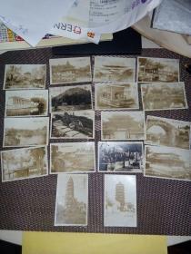 民国  苏州景观、苏州园林照片   18张