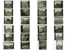 清代1902年3月24日-3月27日德国军队对北京昌平南口一带考察纪实老照片一组四十张,长城,十三陵,南宽沟五贵头弹琴峡等地