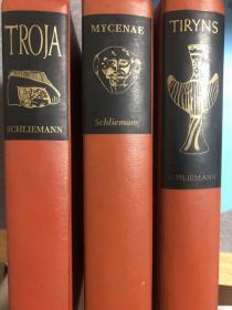 五本:谢里曼考古著作三种、传记、综述