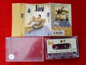 【原装正版磁带】周杰伦 JAY 封面有裂口 没有歌词