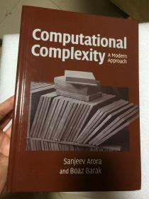 现货 Computational Complexity: A Modern Approach  英文原版 计算复杂性的现代方法   阿罗拉  Sanjeev Arora