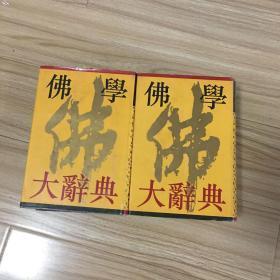 佛学大辞典(上下册全)