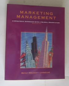 MARKETING MANAGEMENT A STRATEGIC APPROACH WITH A GLOBAL ORIENTATION