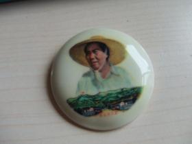 毛主席像章 (软塑料材质)