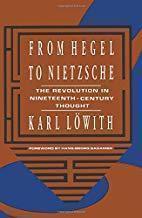 From Hegel to Nietzsche