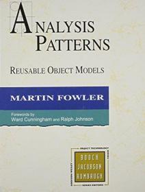 Analysis Patterns-分析模式