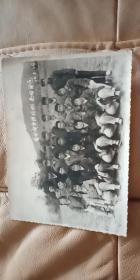 文革老照片 【在水电宣传阵地上,共同前进】1974.5,。28。13cmX11cm